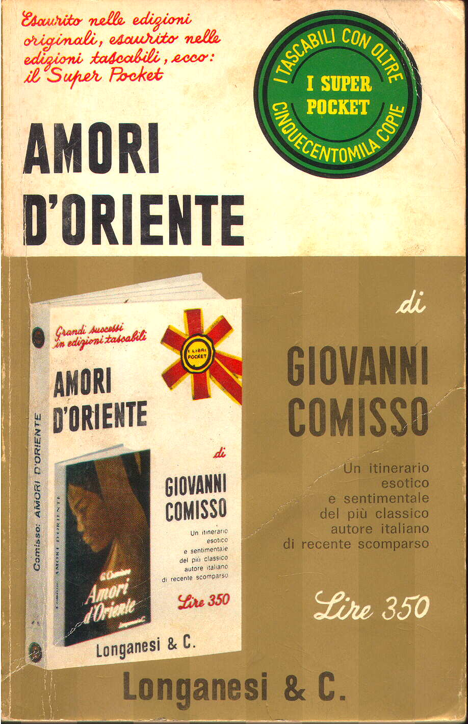 Amori d'oriente Book Cover