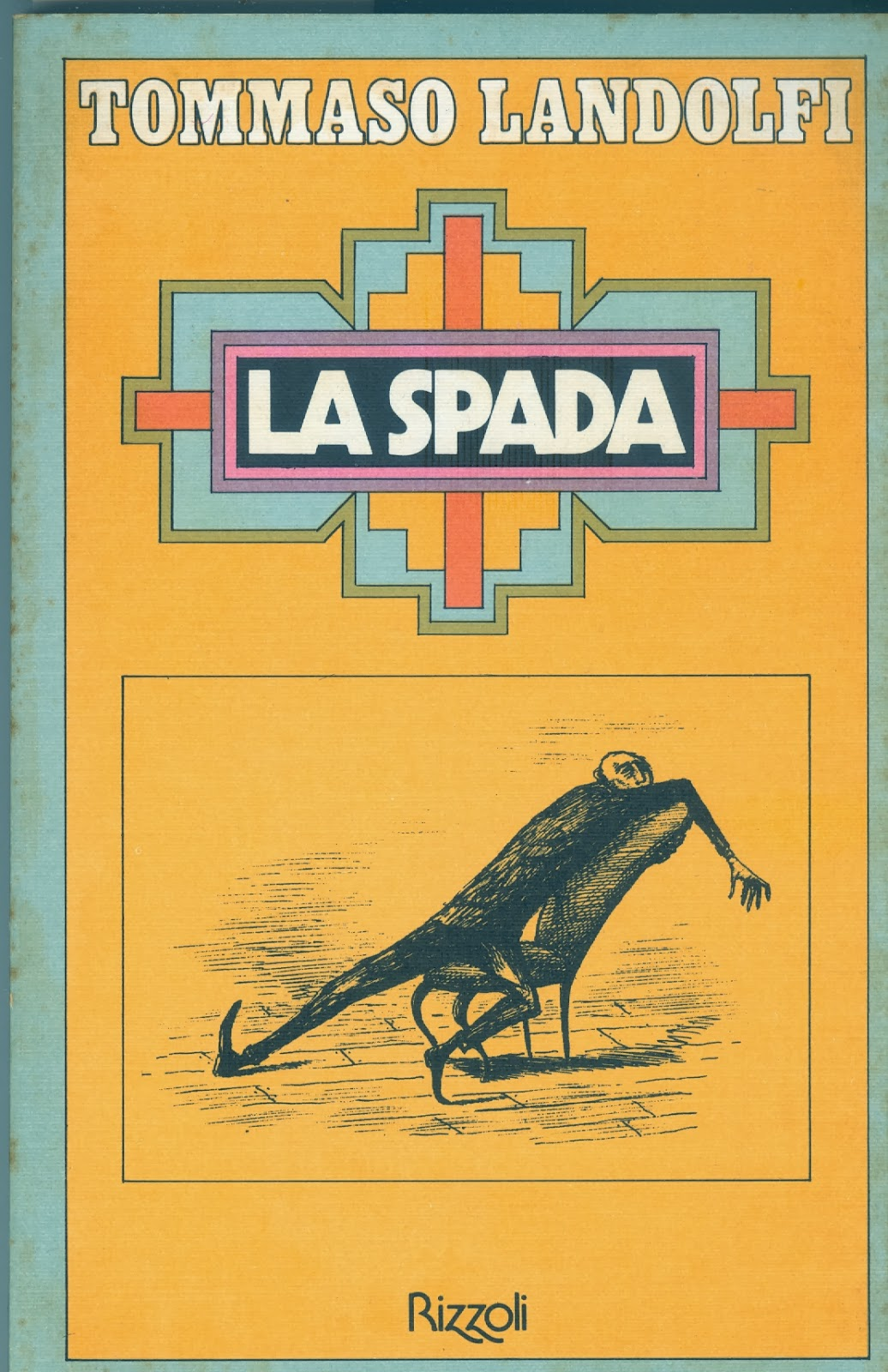 La spada Book Cover