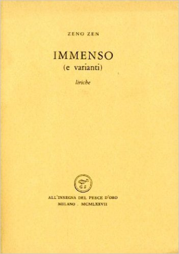 Immenso (e varianti) Book Cover