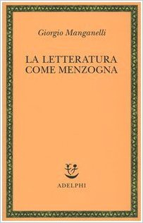 La letteratura come menzogna Book Cover