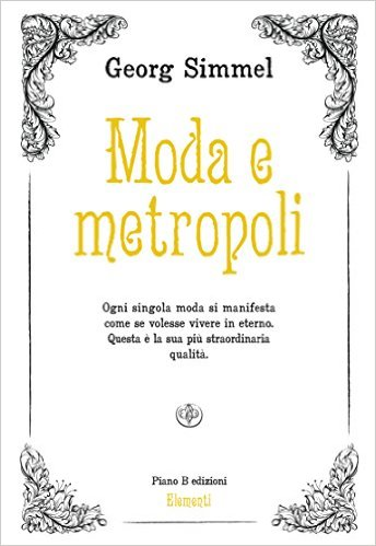 Moda e metropoli Book Cover