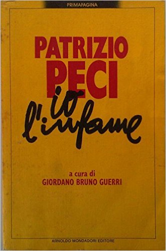 Io, l'infame Book Cover