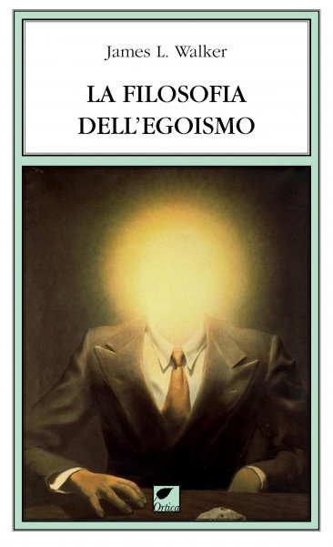 La filosofia dell'egoismo Book Cover