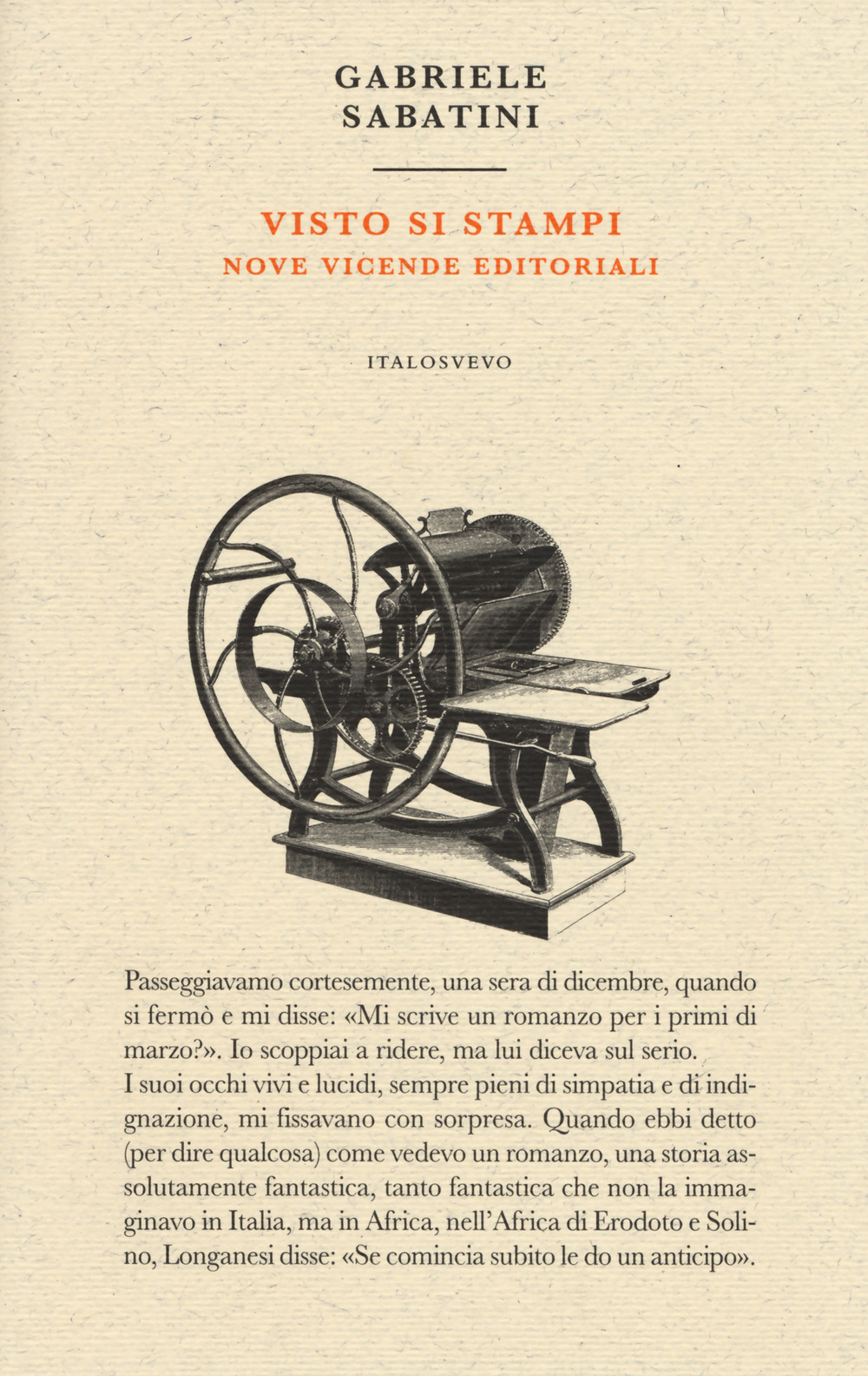 Visto si stampi. Nove vicende editoriali Book Cover